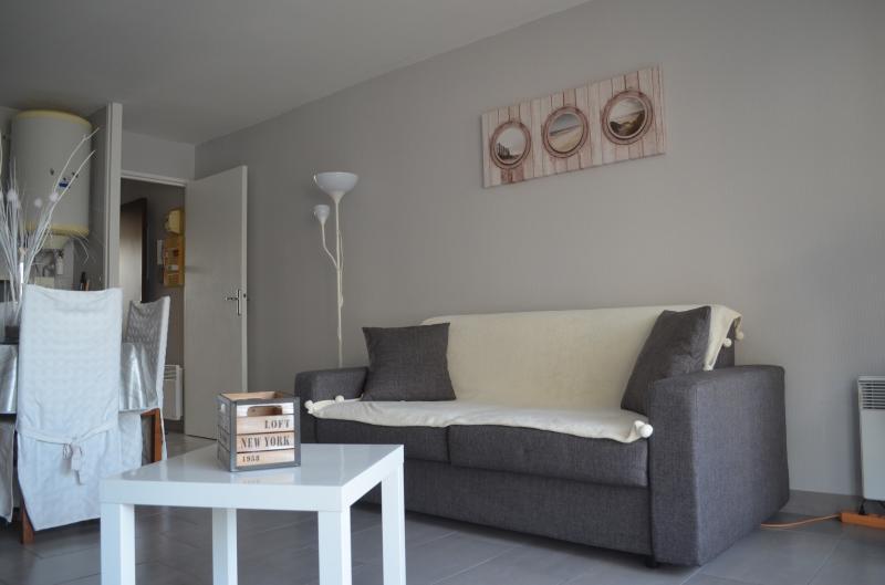 Living room Location Studio apartment 38630 Le Touquet