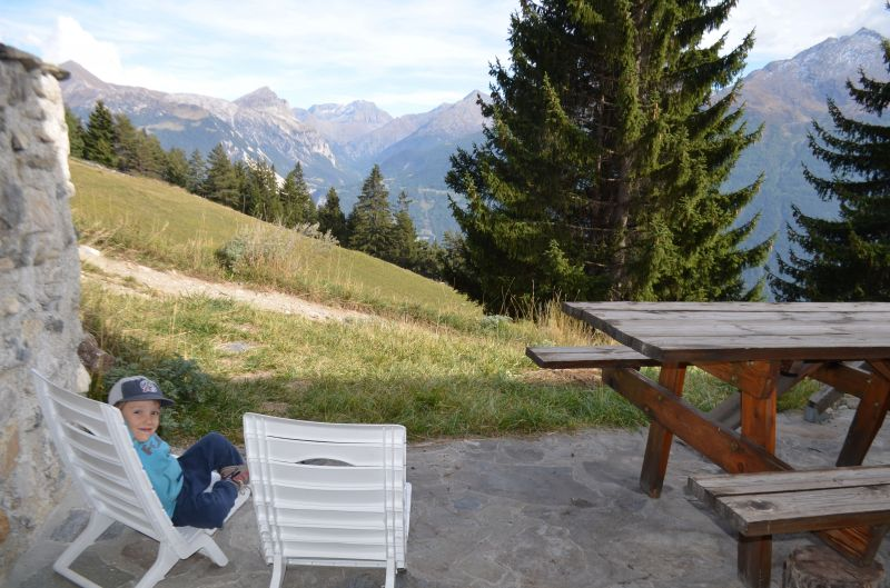 View from terrace Location Apartment 38700 Aussois