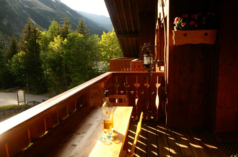 View from the balcony Location Apartment 38850 Pralognan la Vanoise