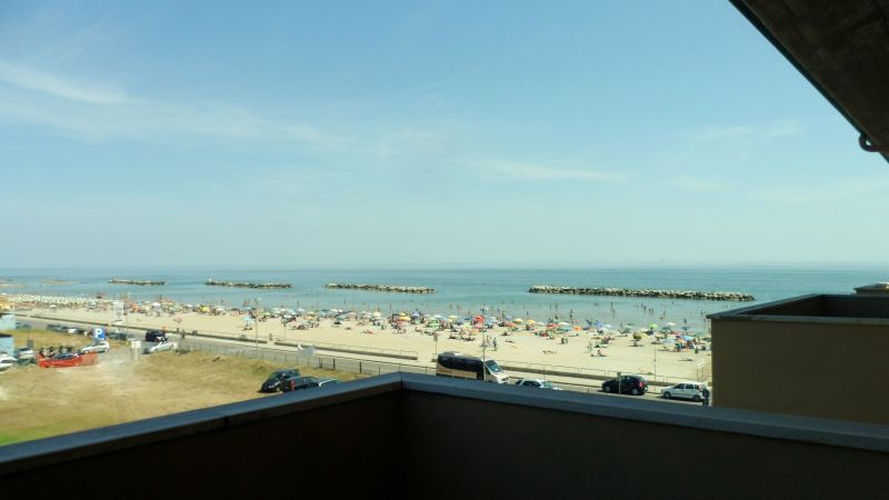 View from terrace Location Apartment 40527 Rimini