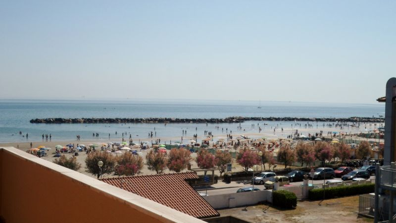 View from the balcony Location Apartment 40527 Rimini