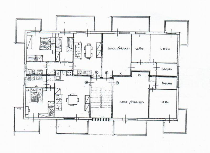 Property map Location Apartment 40527 Rimini