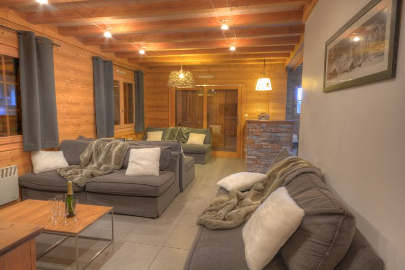 Living room 1 Location Chalet 40631 Morillon Grand Massif