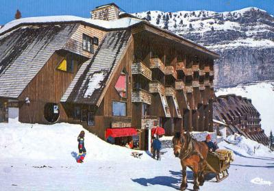 Outside view Location One-room studio flat 424 Avoriaz