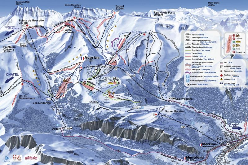 Other view Location Apartment 427 Avoriaz