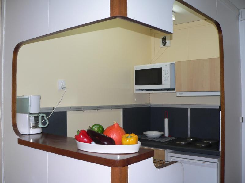 Open-plan kitchen Location Apartment 427 Avoriaz