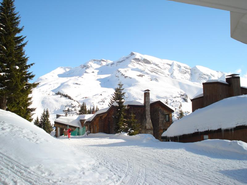 View from the balcony Location Apartment 427 Avoriaz
