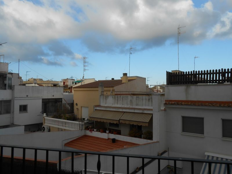 View from the balcony Location Apartment 43811 Barcelona