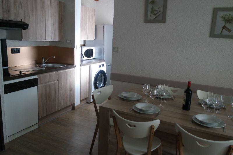 Dining room Location Apartment 4439 Saint Lary Soulan