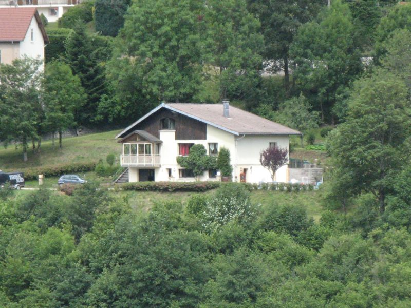 View from terrace Location Self-catering property 4549 La Bresse Hohneck