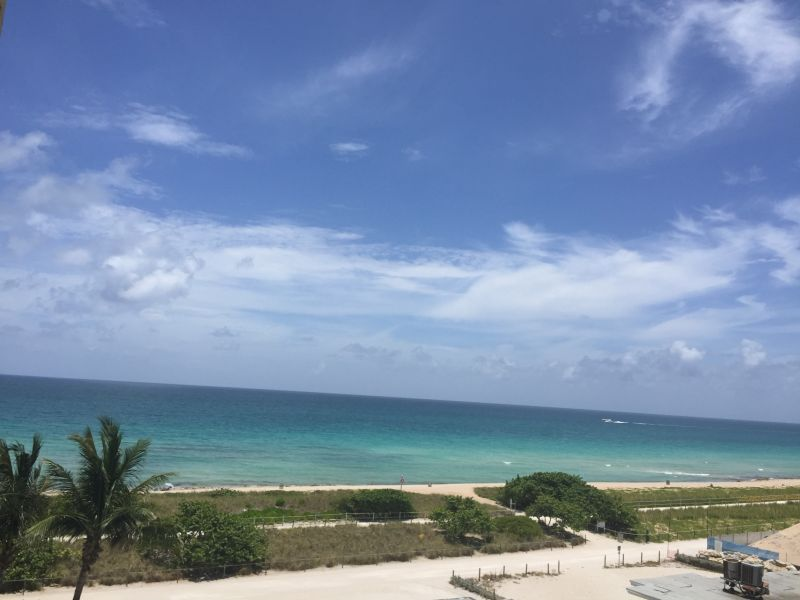 View from the balcony Location Apartment 47405 Miami Beach