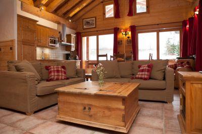 Living room Location Apartment 4774 Sainte Foy Tarentaise