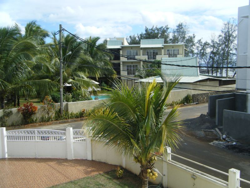 View from terrace Location Apartment 48721 Pointe Aux Piments