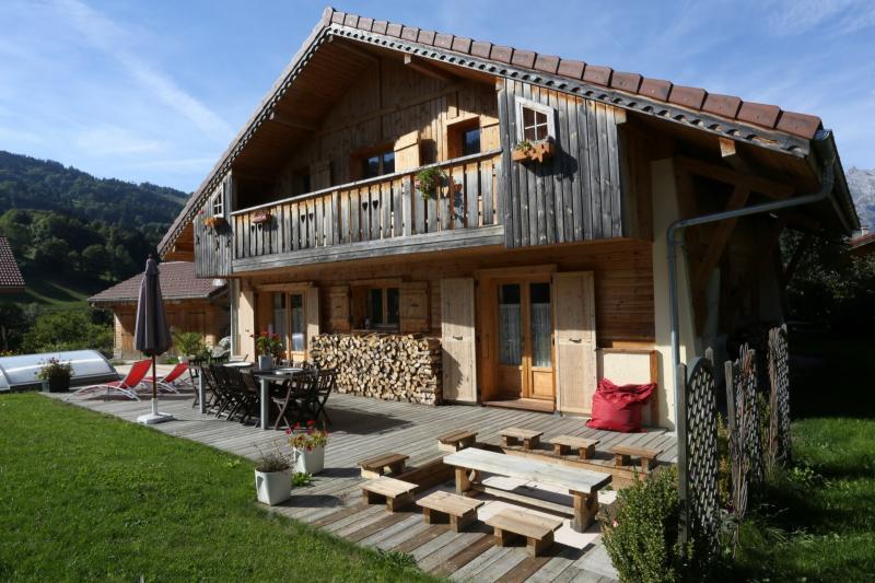 Outside view Location Chalet 48749 Saint Gervais Mont-Blanc