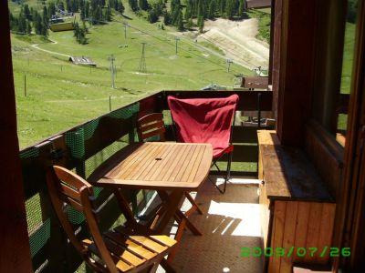 View from the balcony Location One-room studio flat 48754 La Plagne