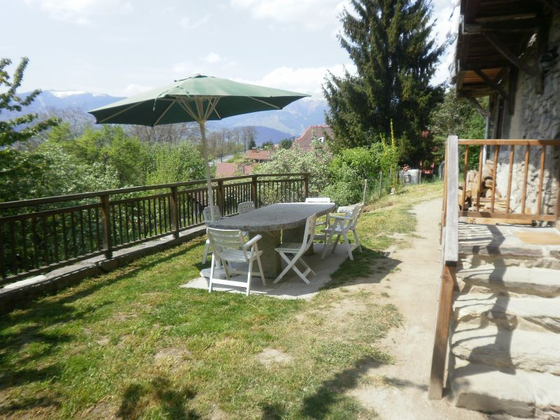 Terrace 2 Location Chalet 4903 Chamonix Mont-Blanc