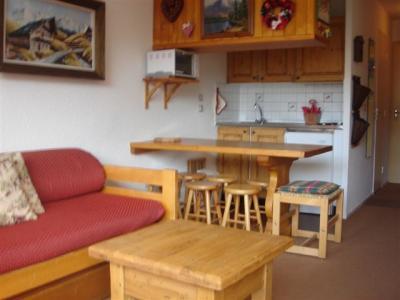 Living room Location Studio apartment 50081 Val d'Isère