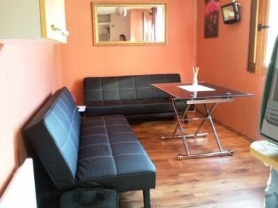Living room Location Studio apartment 50145 Le Corbier