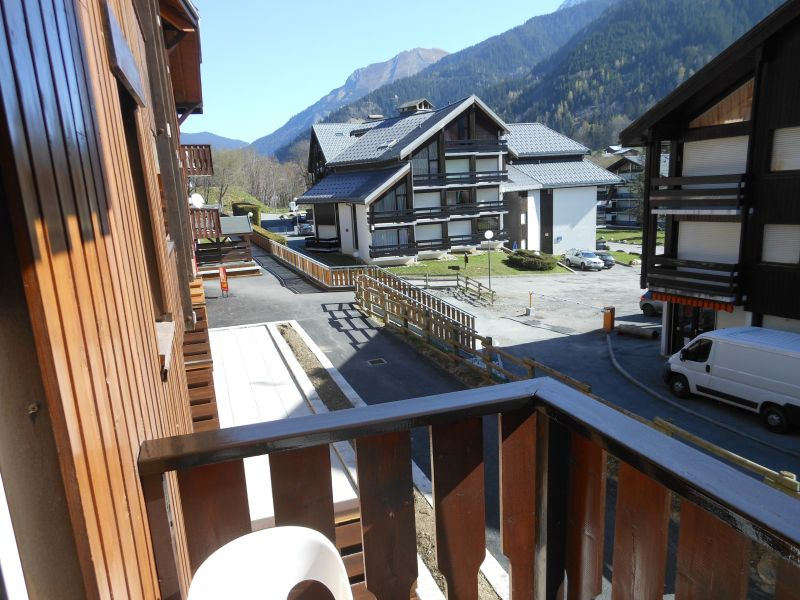 View from the balcony Location Studio apartment 50448 Les Contamines Montjoie