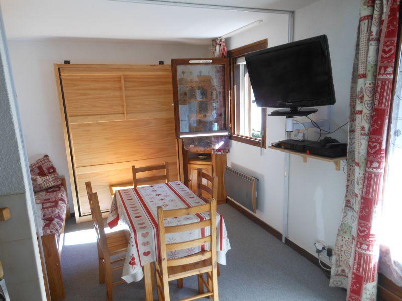 Dining room Location Studio apartment 50448 Les Contamines Montjoie