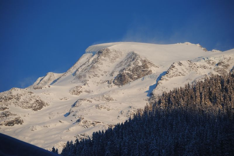 View from the property Location Studio apartment 50448 Les Contamines Montjoie