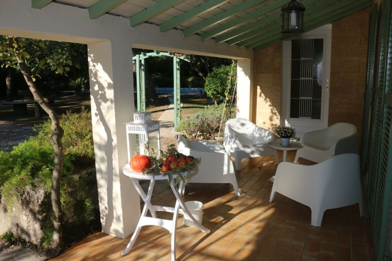 Terrace Location Villa 51831 Uzès