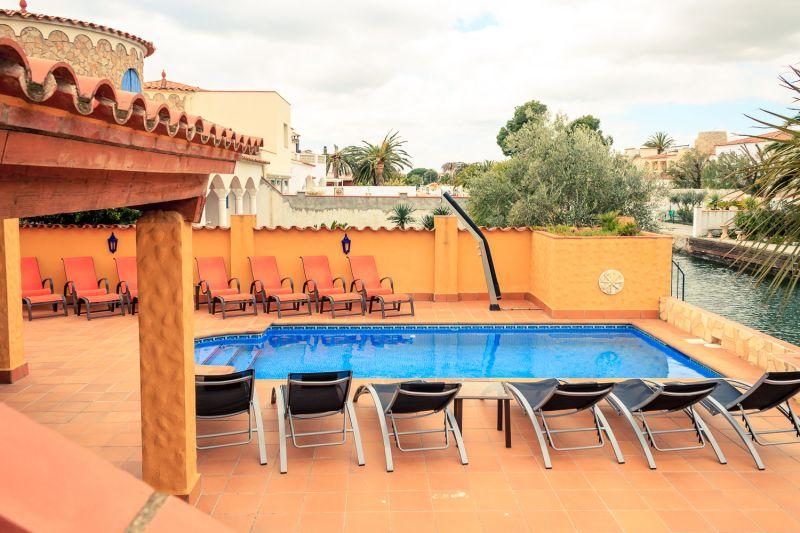 View from the balcony Location Villa 53410 Empuriabrava