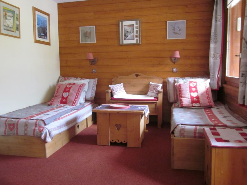 Sitting room Location Studio apartment 53667 Valmorel