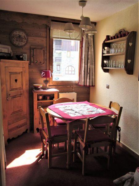Dining room Location Studio apartment 53667 Valmorel
