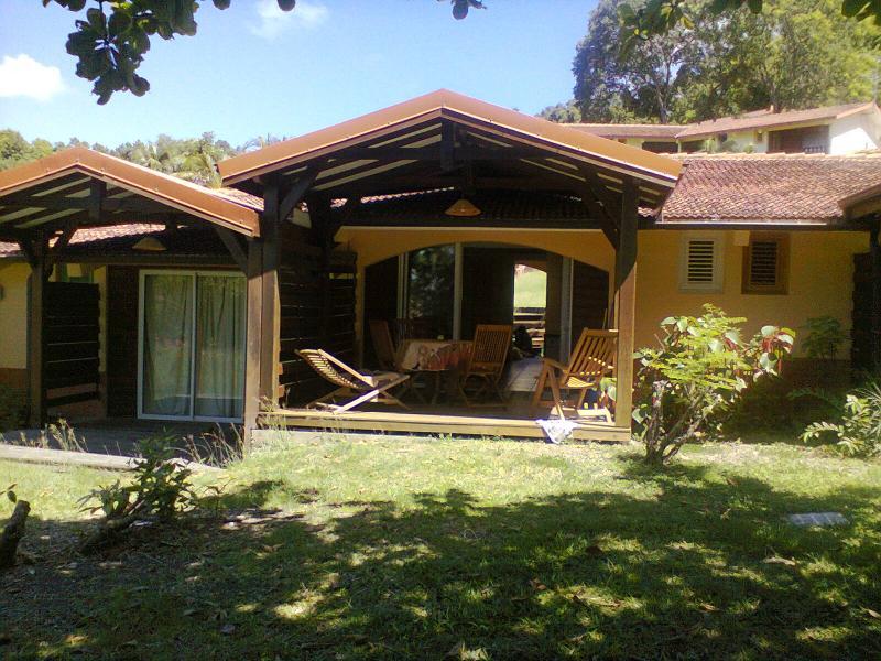 Outside view Location Studio apartment 54186 Sainte Anne (Martinique)