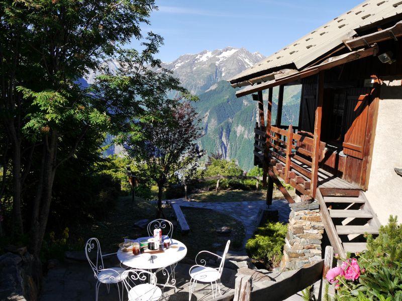 Terrace Location Chalet 54265 Alpe d'Huez