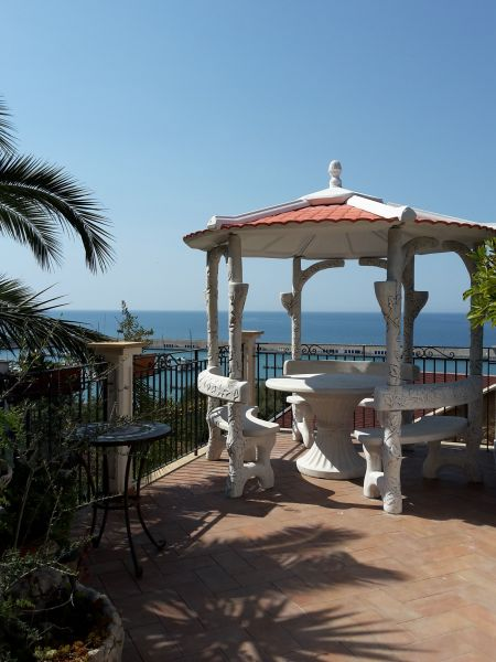 View from terrace Location Villa 54358 Capo d'Orlando