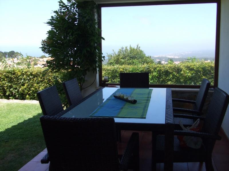 View from terrace Location House 55114 Sintra