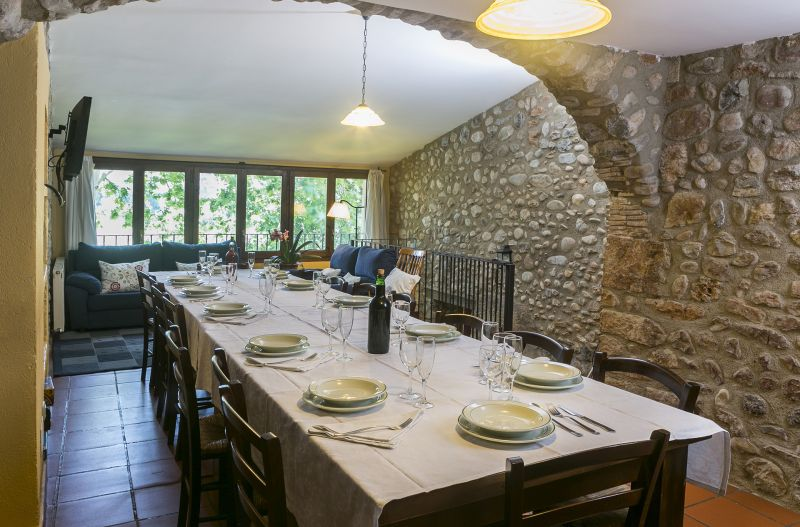 Dining room Location Self-catering property 55342 Figueres