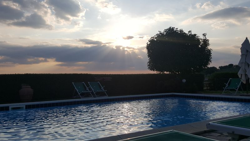Swimming pool Location Villa 55549 Roccastrada