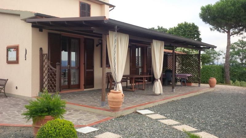 Veranda Location Villa 55549 Roccastrada