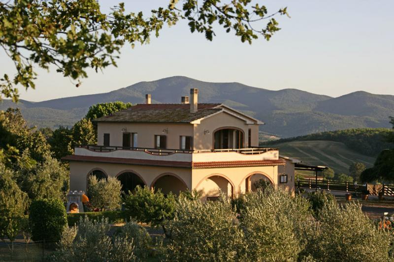 Outside view Location Villa 55549 Roccastrada