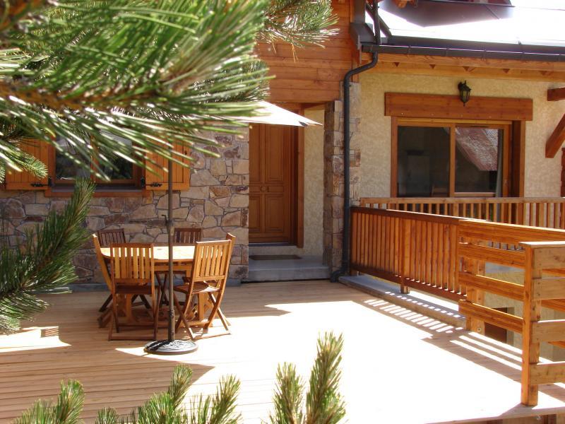 Terrace Location Chalet 57805 Montgenevre