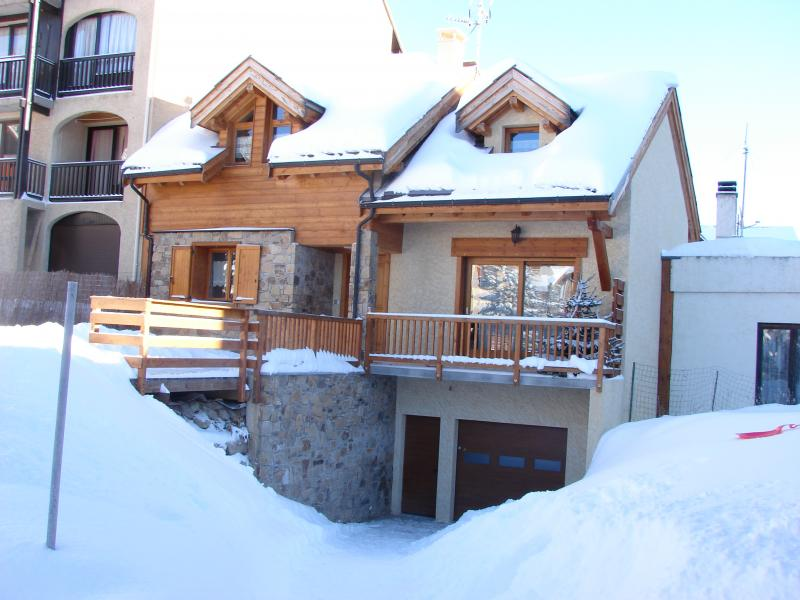Outside view Location Chalet 57805 Montgenevre