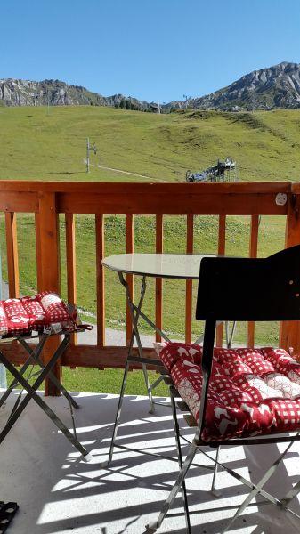 Balcony Location Studio apartment 58187 La Plagne