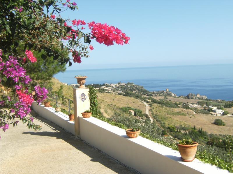 View from the property Location Villa 58328 Scopello