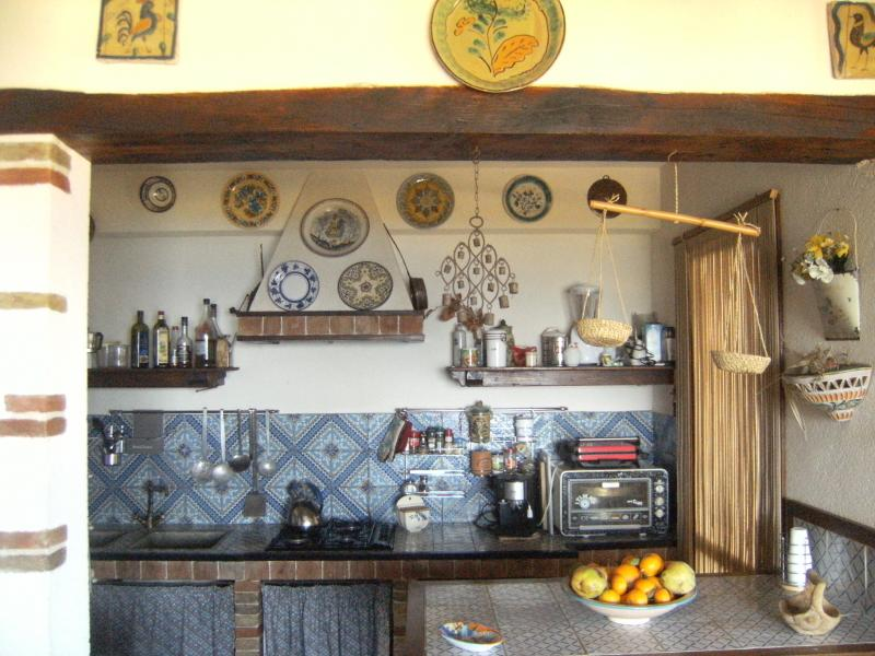 Sep. kitchen Location Villa 58328 Scopello