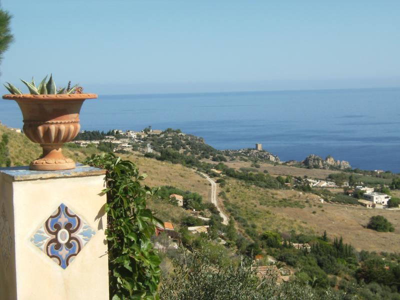 View from the property Location Villa 58328 Scopello