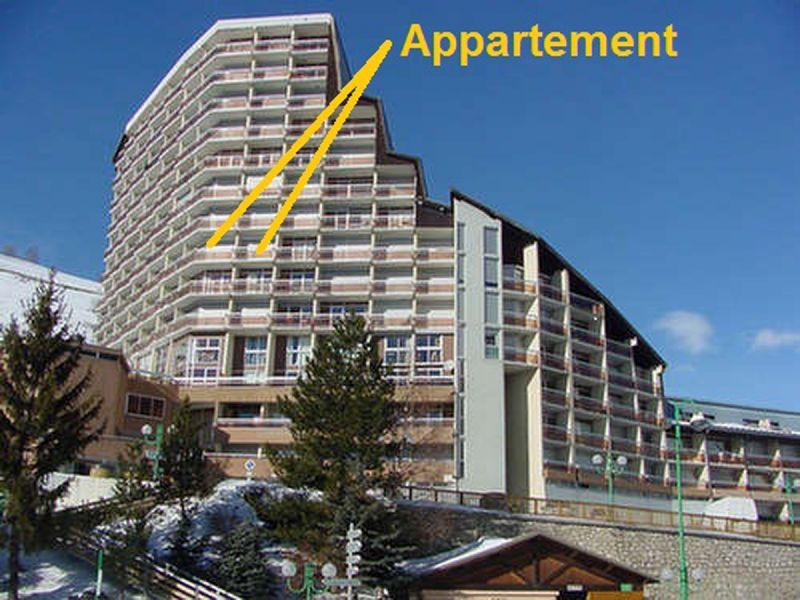 Outside view Location Apartment 58575 Les 2 Alpes