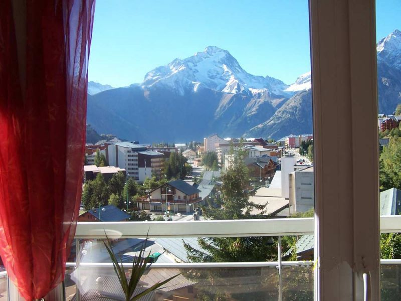 View from the balcony Location Apartment 58575 Les 2 Alpes