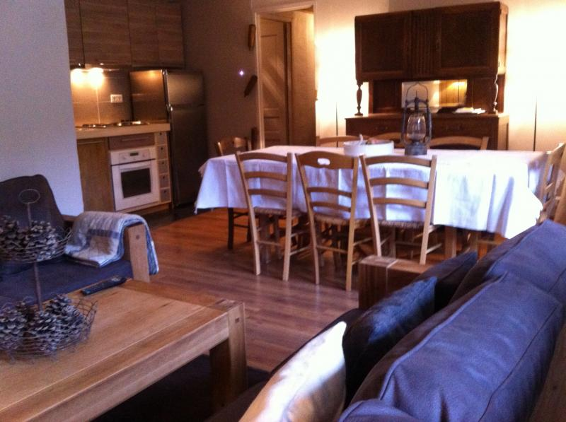 Living room Location Apartment 58747 Valmorel