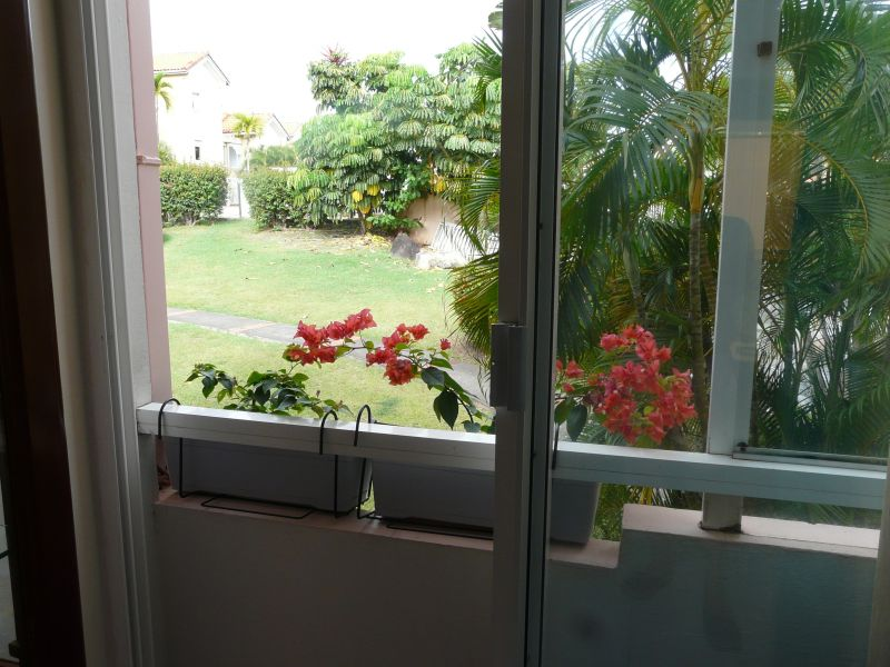 View from the balcony Location Apartment 58877 Sainte Anne (Martinique)