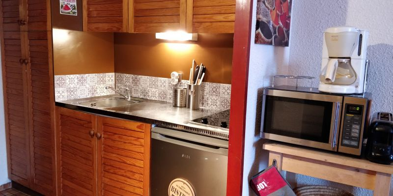 Kitchenette Location Studio apartment 59472 Piau Engaly
