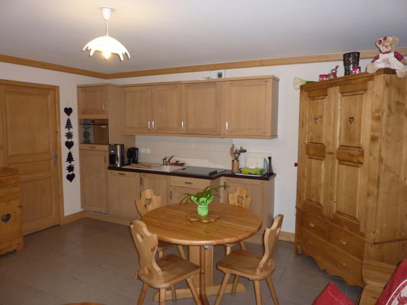 Summer kitchen Location Apartment 59536 Saint Gervais Mont-Blanc