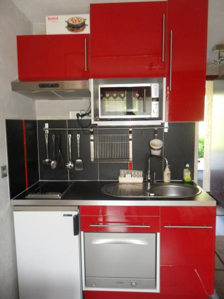 Kitchenette Location Studio apartment 59631 Les Menuires